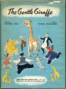 Book-Susanne Suba-The Gentle Giraffe-1946-DJ-b