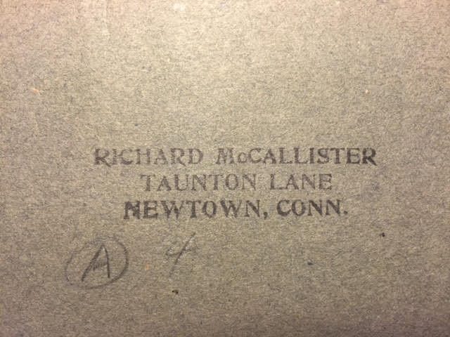 Richard McCallister stamp