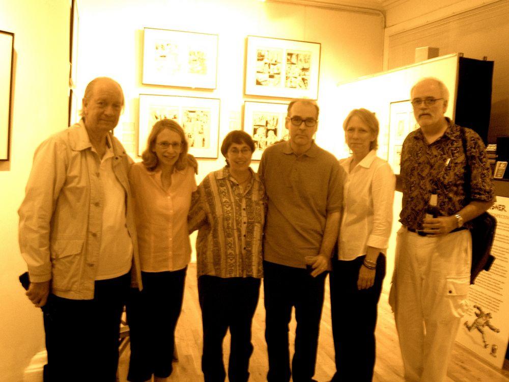 Cartoon panelists