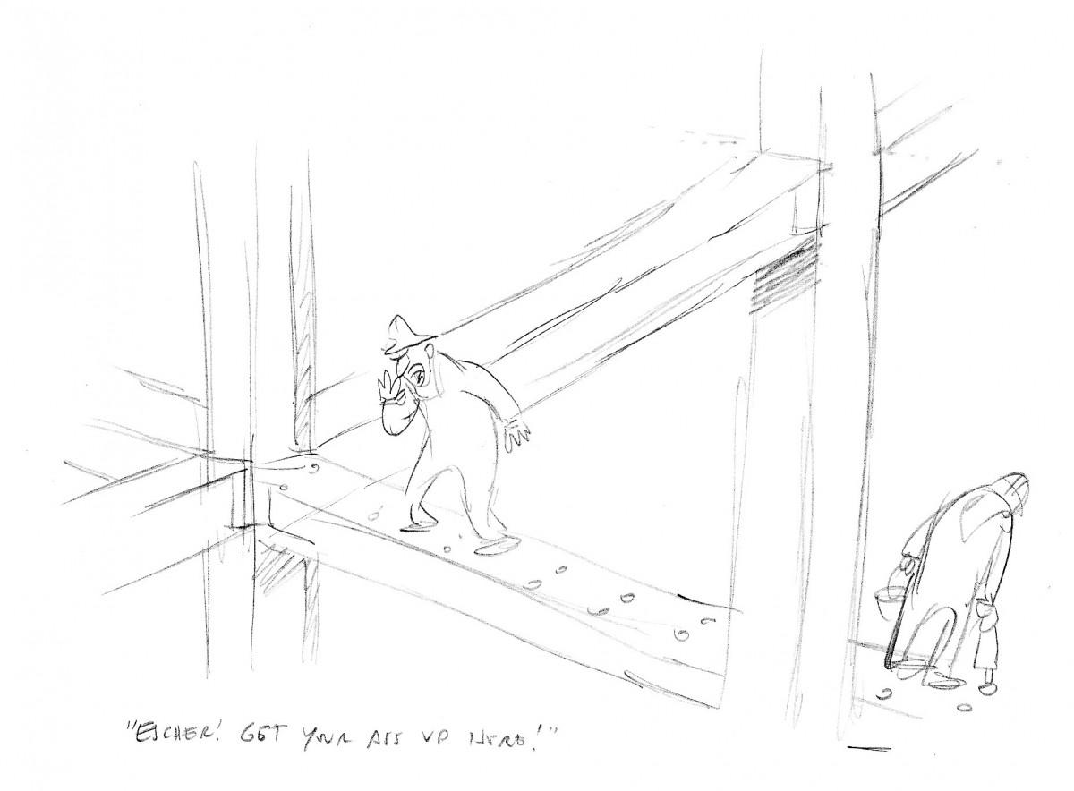 Anatomy of a Cartoon: Robert Leighton on His Escher Cartoon in This ...