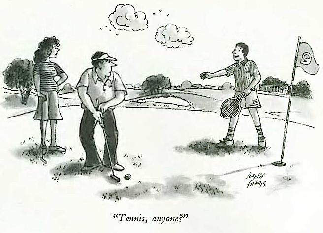 Farris:golf