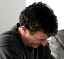 David laughing