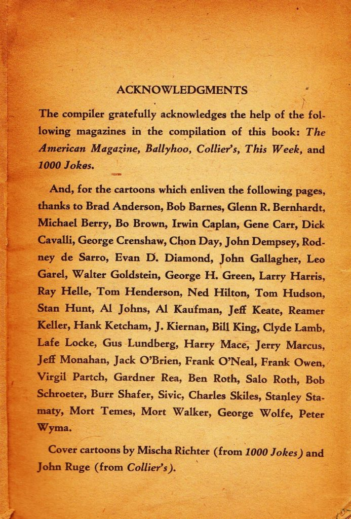 Acknowledgements Laughing on the Inside_0001