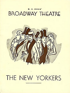 The New Yorkers (playbill)