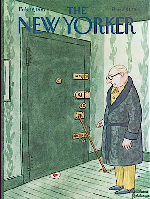 New Yorkers Covers About Ascent Of Man >> My Favorite Funny Valentine New Yorker Cover Inkspill
